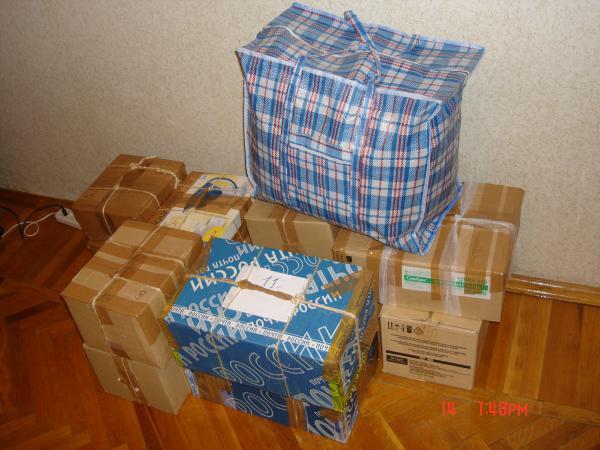 Газель перевезти 13 коробок С книгами И одна сумка С бельем из Нижний Новгород в Москва