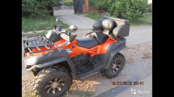 Заказать транспортировку квадроцикла  из Бугуруслана в Краснодар