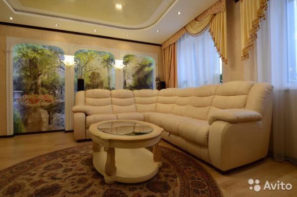 Доставка углового дивана И два пуфа грузчики из Москва в Казань