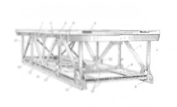 Перевозка на газели секции Моста сарма из Слободской в республика Карелия