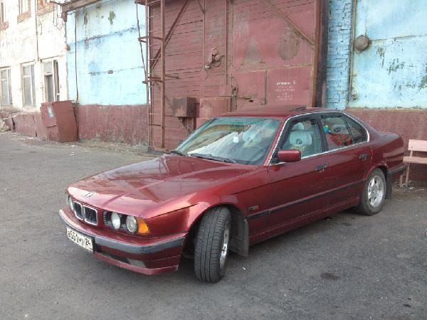 Перевозка автомобиля BMW 5 / 1994 г