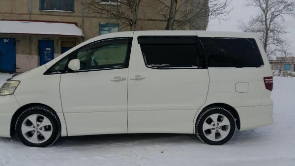 Стоимость перевозки Toyota Alphard