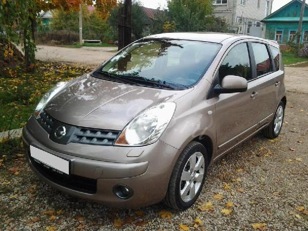 Перевозка автомобиля Nissan Note 2008 г.в.