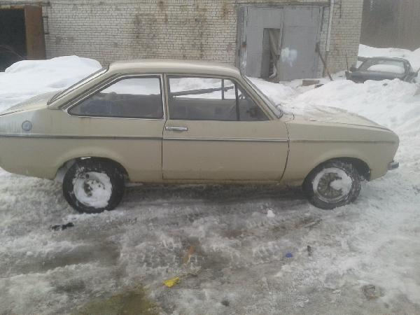 Ford escort mk2 1978 из Петрозаводска в Тольятти