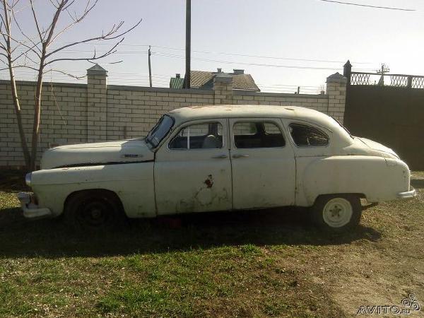 Перевозка автомобиля ЗИМ 12 / 1958 г