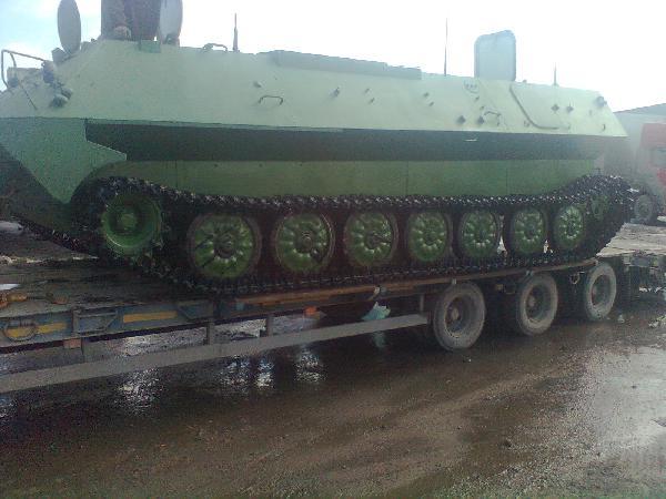 Перевозка 4 гусеничные машины, 5 гусеничных машин из Смоленска в Западно-сибирская ж/д