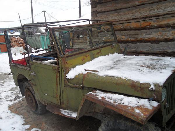 Перевозка автомобиля willys Джип / 1943 г / 1 шт