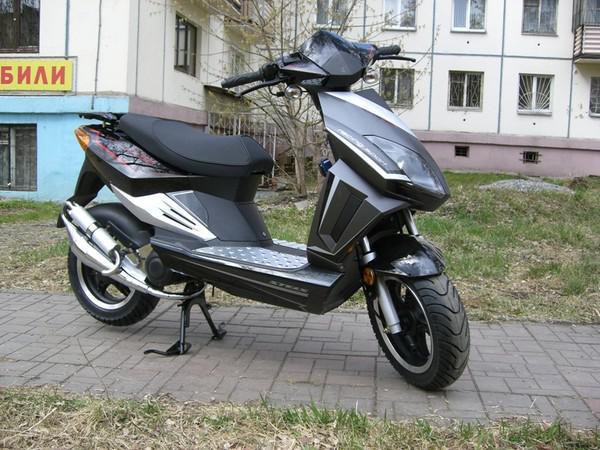 Перевозка мотоцикла stels vortex 50 / 2008 г / 1 шт из Подольска в Санкт-Петербург