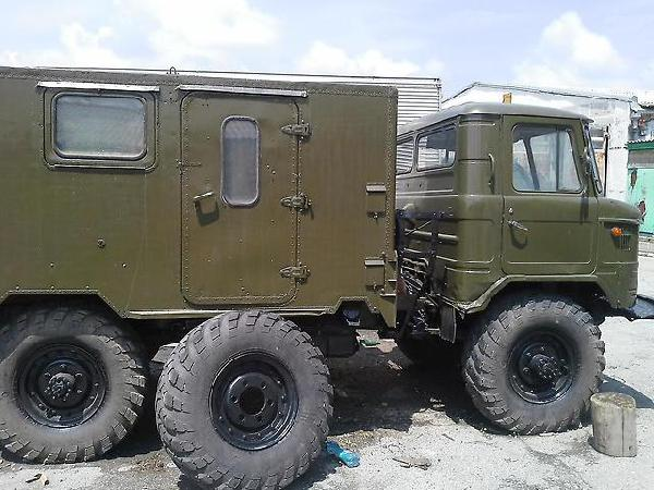 Перевозка автомобиля ГАЗ 66 / 1989 г / 1 шт