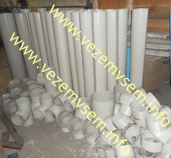 Перевезти на газели пластиковые воздуховоды вентиляции недорого из Новосибирска в Пермский р-н
