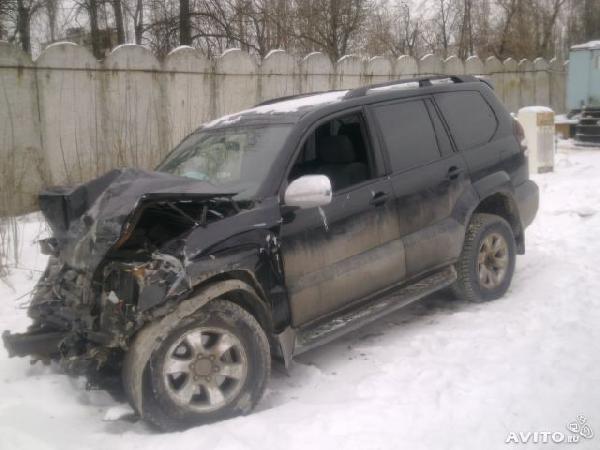 Доставка машины toyota land cruiser prado, 2006 из Нижний Новгород в Екатеринбург