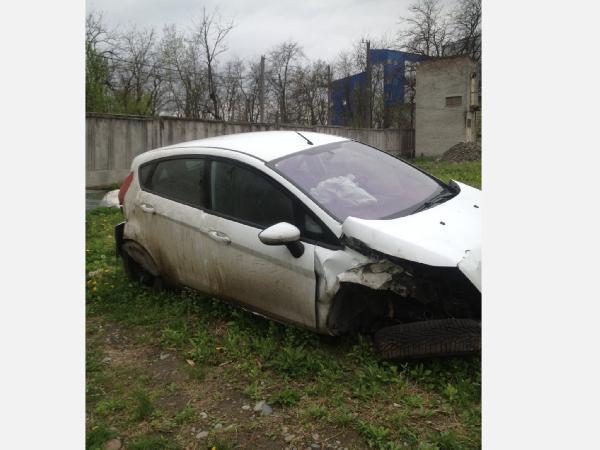 Перевозка автомобиля, Форд Фиеста