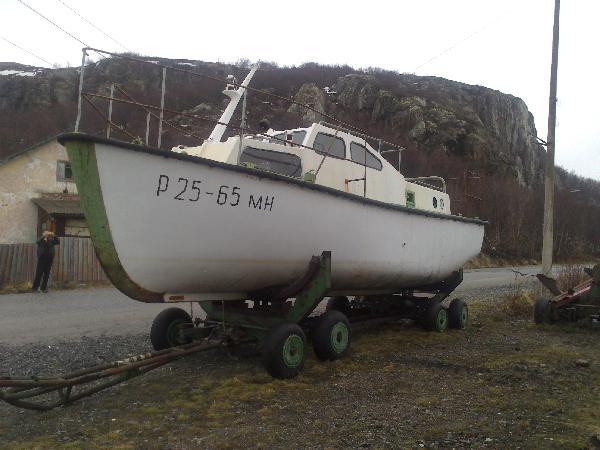 Доставка катера из Линахамари в Североморск