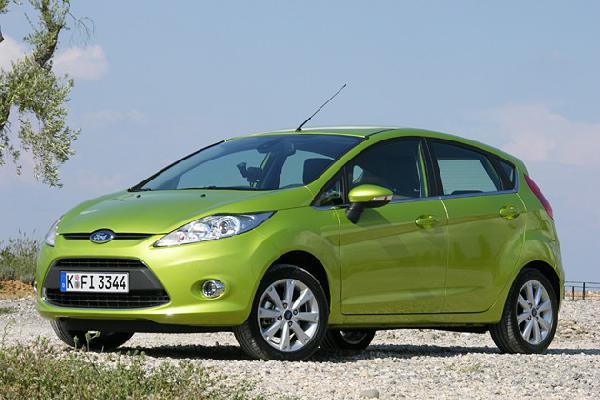 Перевозка автомобиля Ford Fiesta / 2010 г / 1 шт