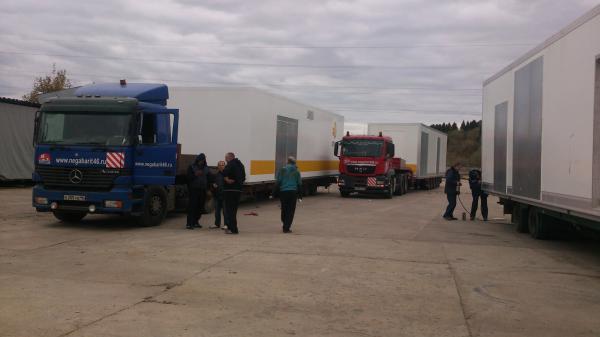 Заказать машину перевезти контейнера пластиковый (модуль) из Обнинска в Буденовского