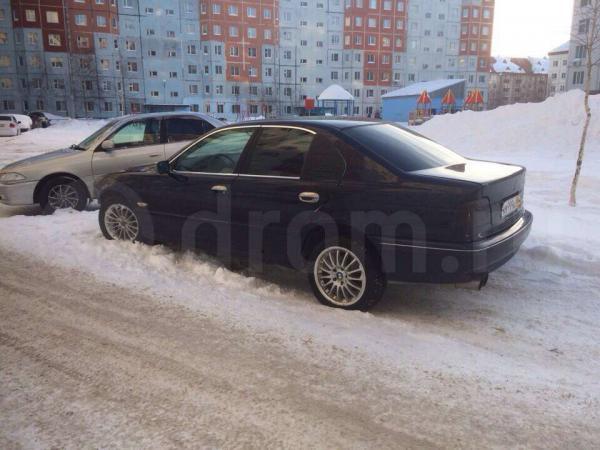 Стоимость перевозки BMW 525i