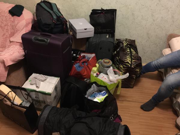 Отвезти коробки И сумки С вещами на дачу по Москве