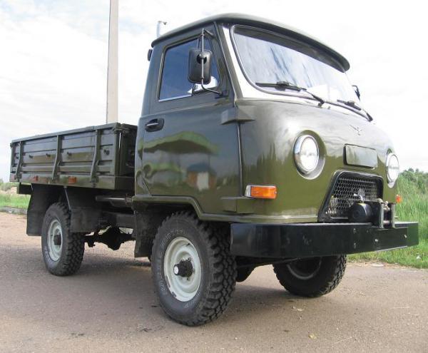 Стоимость перевозки УАЗ 3303