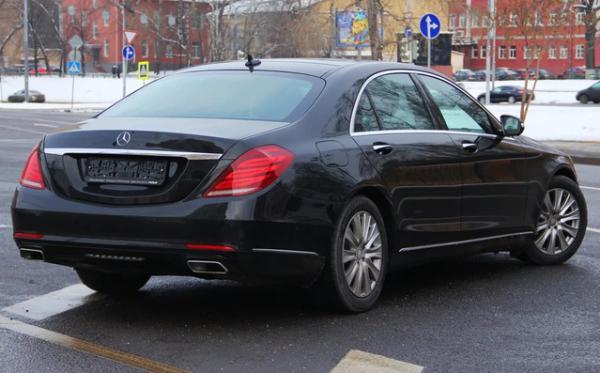 Стоимость перевозки Mercedes-Benz S600