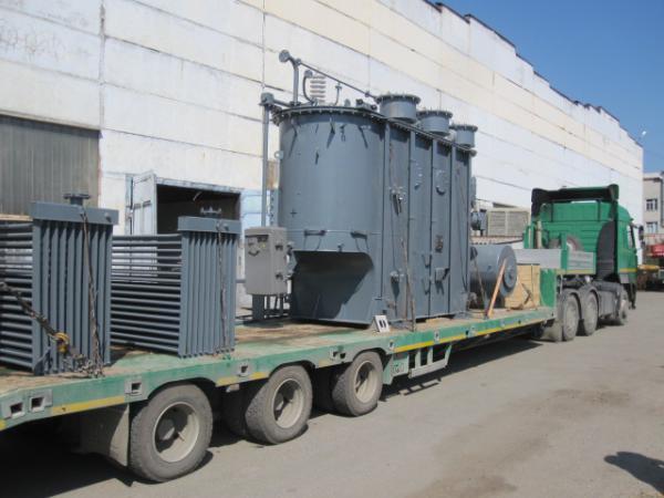 Сколько стоит перевозка трансформатора из Кызыла в Невинномысска