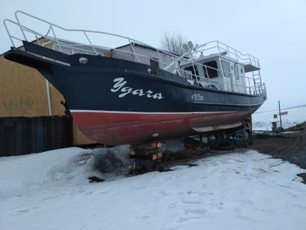 Заказ грузотакси для перевозки катера (беза прицепа) из Тольятти в Мурманск