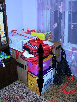 Перевозка коробок с вещами и бытовой техникой из Волгограда в Санкт-петербург