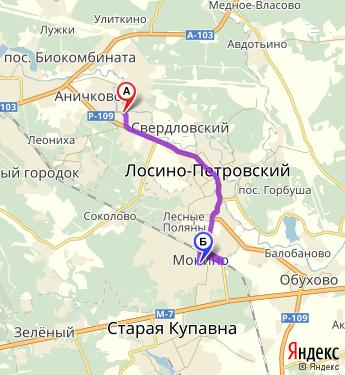 Щёлково on line расписание автобуса 26 щелково