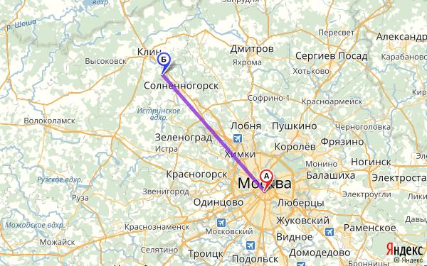 Как доехать из твери до шаховской московская область