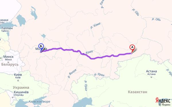 Москва черное море на машине