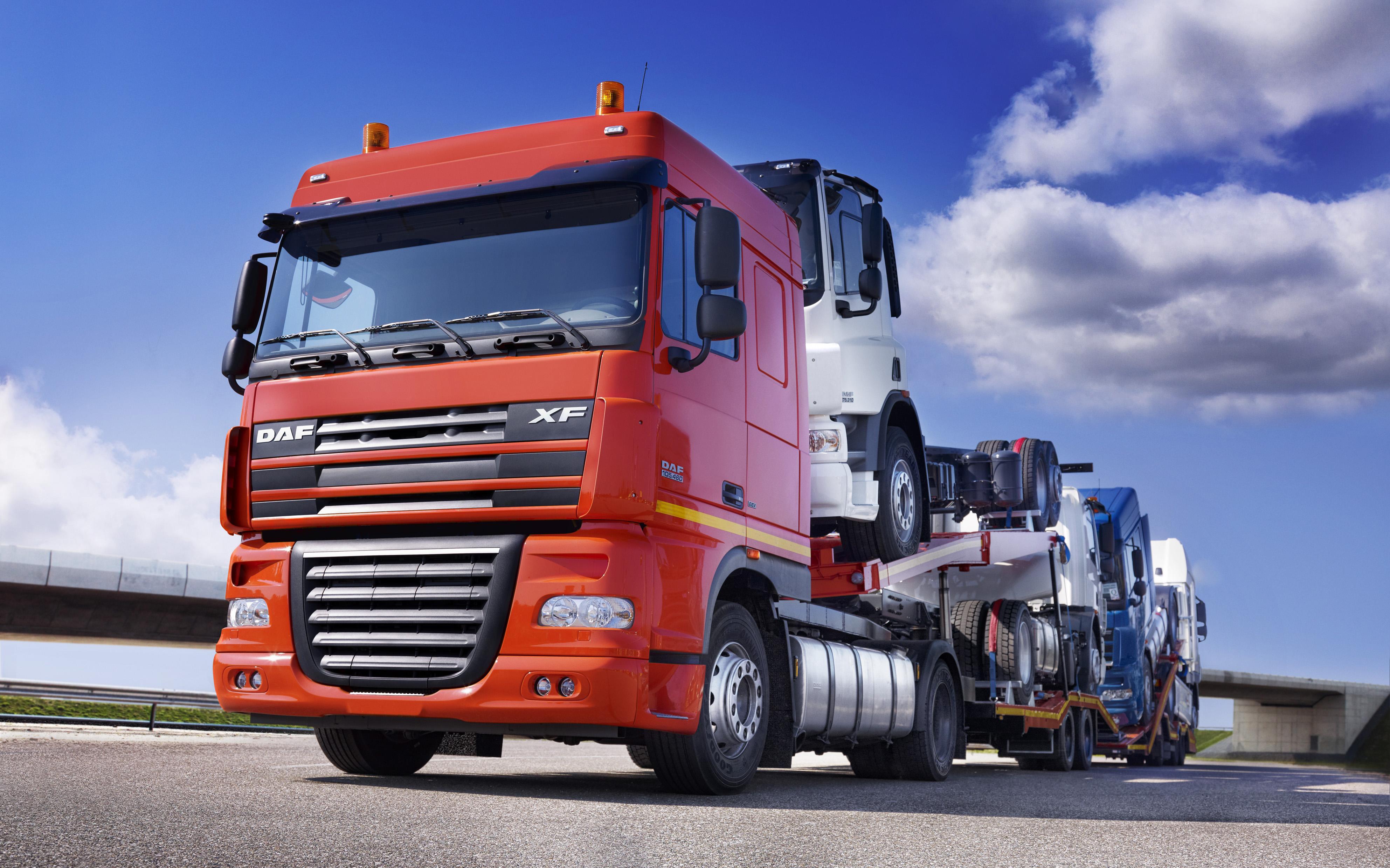 DAF trucks  Truck wallpapers  Wallpeu